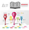 infographic design infographics elements vector image vector image