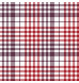 seamless check fabric texture tablecloth pattern vector image vector image