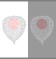 Stylized Physalis vector image vector image