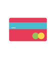 finance electronic credit card business vector image vector image