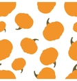 Pattern Silhouette Pumpkin vector image vector image