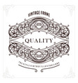 premium luxury perfect border for identity and vector image