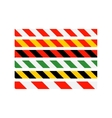 Road signs Types of multi-colored road warning vector image