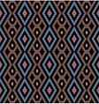 Tribal monochrome pattern vector image