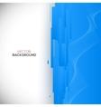 Blue 3D Background vector image