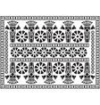 Greek pattern ornament vector image