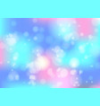 abstract blue and pink bokeh background vector image
