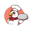 chef hen vector image