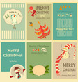 Christmas Mini Posters vector image