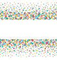 colorful background made from alphabet symbols vector image vector image