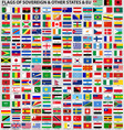 Flags of the World 2014 AI10 vector image