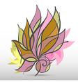 FlowerArt vector image vector image