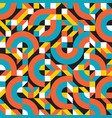 background abstract geometric seamless vector image vector image