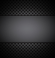 gray grill texture background vector image vector image