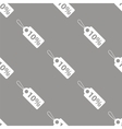 Price tag seamless pattern vector image vector image