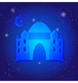 Ramadan Kareem islamic background Eid mubarak vector image vector image