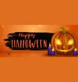 scary halloween vector image vector image