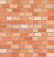 seamless bricks wall vector image