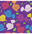 seamless colour snails vector image vector image