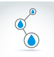 Water system icon conceptual special icon for your vector image vector image