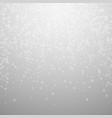 beautiful glowing snow christmas background subtl vector image