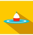 Bobber flat icon vector image vector image