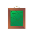 exhibition or museum picture on wall art vector image