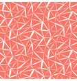 hand painted geometric pattern vector image vector image