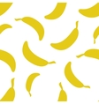 Pattern Silhouette Bananas vector image vector image