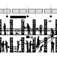 public library vector image vector image
