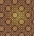 retro brown preview vector image vector image