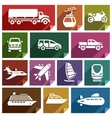 Transport flat icon-07 vector image vector image