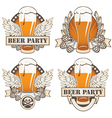 Beer wings vector | Price: 1 Credit (USD $1)