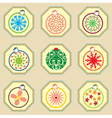Christmas Ornament Pattern vector image vector image