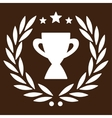 Glory icon from Competition Success Bicolor Icon vector image vector image