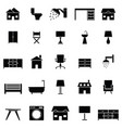 home icon set vector image