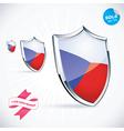 I Love Czech Flag vector image vector image