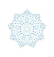 mandala Yoga pattern vector image