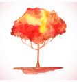 watercolor texture beauty blot vector image vector image