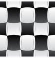 3d curve tile seamless pattern blackampwhite 002 vector image vector image