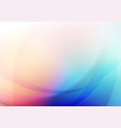 abstract curved with colors background vector image