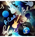 Blues music vector image