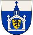 coat arms inden in north rhine-westphalia vector image vector image