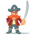 Pirate Cartoon vector image vector image