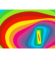 Psychedelic spiral vector image vector image