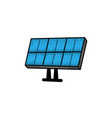 solar panel hand drawn clipart icon vector image