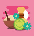 spa wellness related vector image vector image