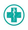 symbol healthcare pharmacy drug store vector image
