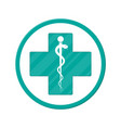 symbol of healthcare pharmacy drug store vector image