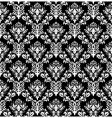 Vintage damask pattern vector | Price: 1 Credit (USD $1)